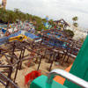Midway Mania Construction, May 2007